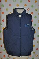 Mens Large Wiman Thinsulate Blue Quilted Vet Denagard Animal Health Usa