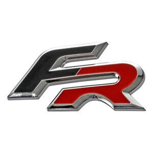 Schriftzug-Logo-FR-Kuehlergrill-Stossstange-Seat-Leon-Ibiza-Ateca-Emblem-badge