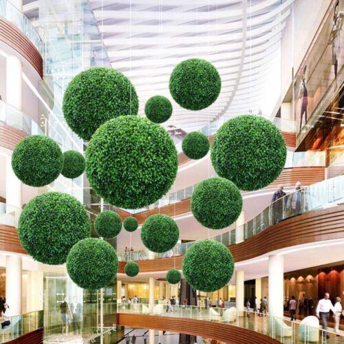 40cm Topiaire Boule Artificiel Buis Buis Extérieur Jardin Maison Mariage Décor