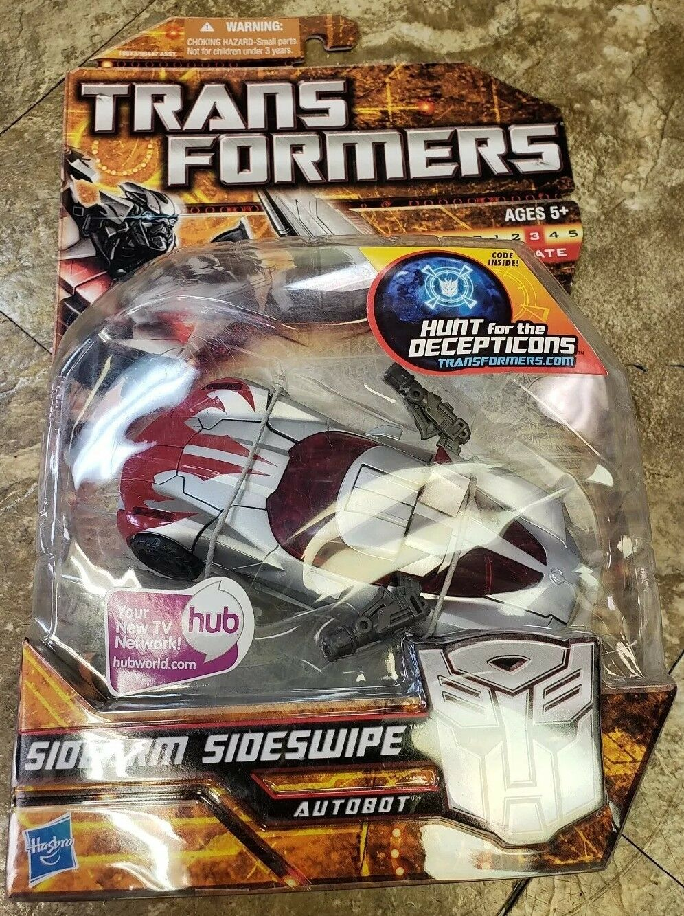 2010 Transformers Hunt For The Decepticons  SIDEARM SIDESWIPE Deluxe Deluxe Deluxe 58a