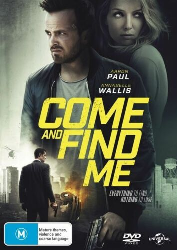 1 of 1 - Come And Find Me (DVD, 2017)