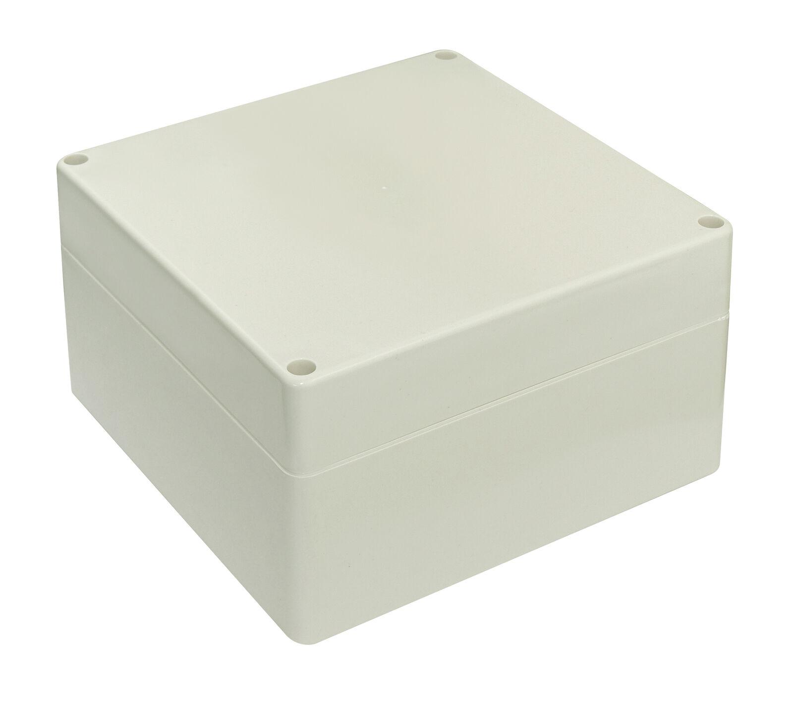 ABS-Kunststoff-Gehäuse 80 x 160 x 55 mm Montage Platinen Netzteil IP65 grau
