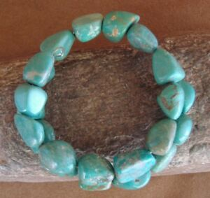 Native-Indian-Navajo-Turquoise-Memory-Wire-Bracelet-by-Yazzie