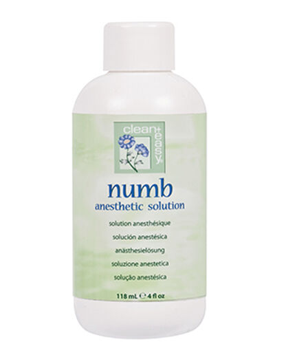 clean + easy 43609 NUMB ANESTHETIC PRE-WAXING SOLUTION 4oz.