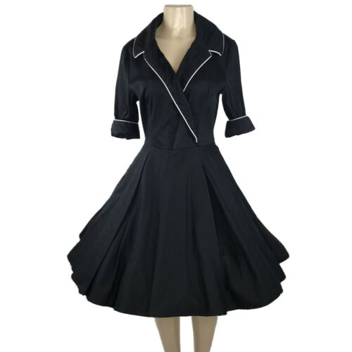 Deadly Dames Haunted Housewife Swing Dress Size L