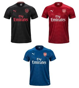 06354f7ce8b Image is loading Puma-Arsenal-Stadium-Jersey-75265805-Soccer-Football- Training-