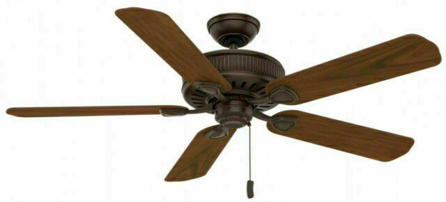 """Casablanca 54001 54"""" Ceiling Fan - Brushed Cocoa"""