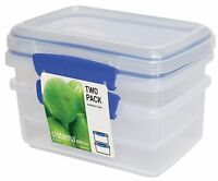Sistema Klip It 2 By 33-ounce Containers Set, 2-pack , New, Free Shipping on Sale