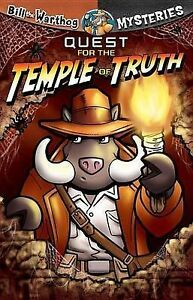 NEW-Quest-for-the-Temple-of-Truth-Bill-the-Warthog-Mysteries-by-Dean-Anderson