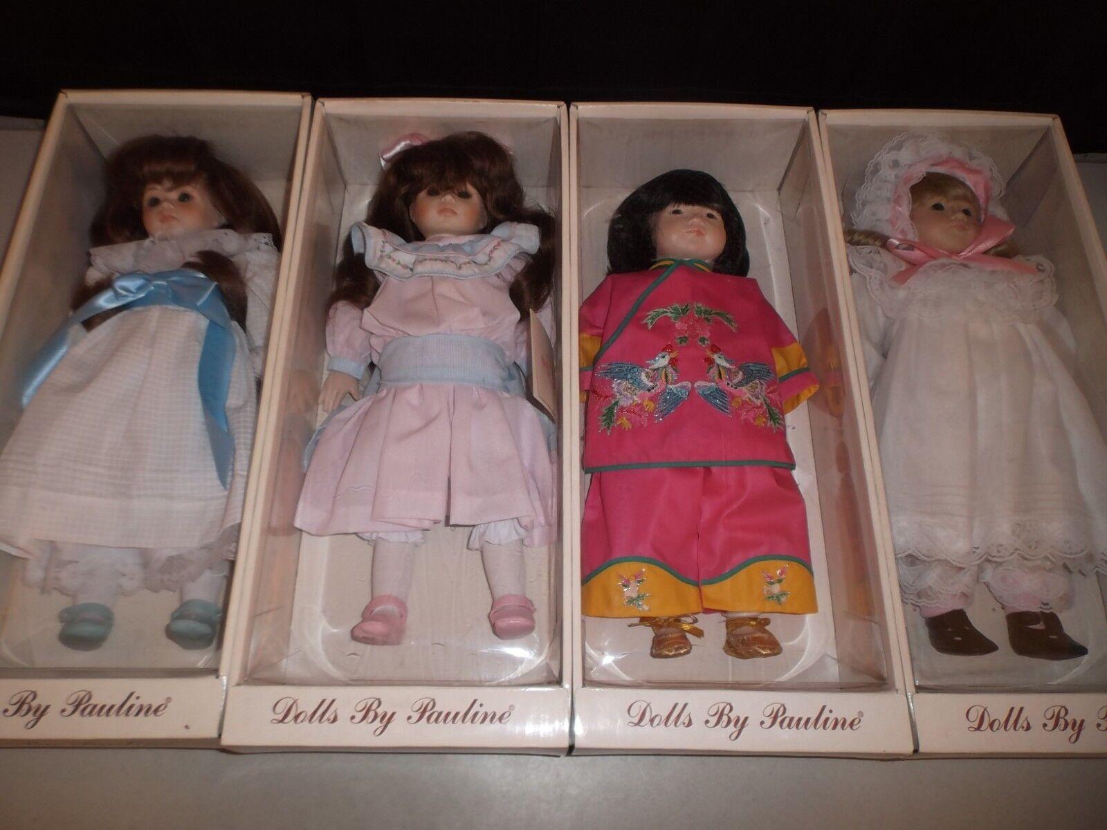 Muñecas Por Pauline (Lote de 4) 18  Ltd (bjonness Jacobson) Chloe, Allison  2