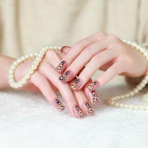 24pcs-bride-nail-False-Nails-Art-Acrylic-Full-Cover-Tips-Manicure-Glue-remova-MC