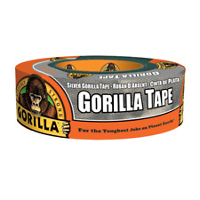 Silver Duct Tape 30 Yard Roll Double Thick Adhesive Weather Resistant Shell