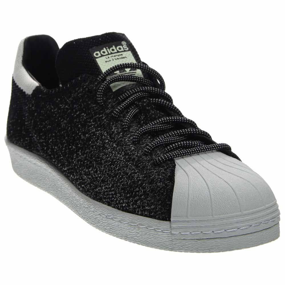 Adidas Superstar 80s PK NBA All Star ASG GLOW Primeknit Black White S32029 Sz 11