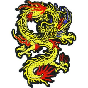 Dragons Patch Patch Original Embroidered Artwork Sew Iron on