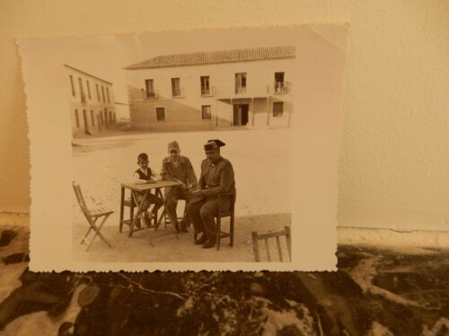 MECO VILLAGE SPAIN AMAZING SOCIAL HISTORY PHOTOGRAPH 1959 CAPTIONED! PRIVATE