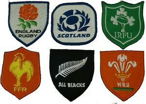 Canterbury Rugby Badge Iron On Embroidered Patch