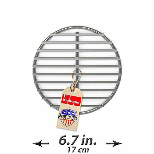 Durable Replacement Fire Grate Great for Medium Big Green Egg Grill 6.7 Inch