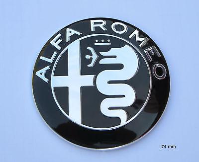 Emblème Insigne Calandre Coffre AUTOCOLLANT 74 mm l/' ancien logo Alfa Romeo 156