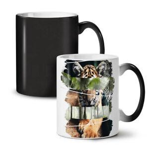 Tiger Cat Beast Animal NEW Colour Changing Tea Coffee Mug 11 oz | Wellcoda