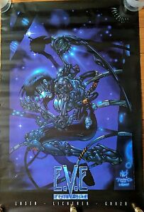 #1 David Finch VARIANT NM 2000 IMAGE COMICS Top Cow EVE ProtoMecha
