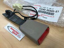 01 04 Sequoia Left Front Seat Belt Buckle Oak 73240 0c020 E1 Genuine Fits Toyota
