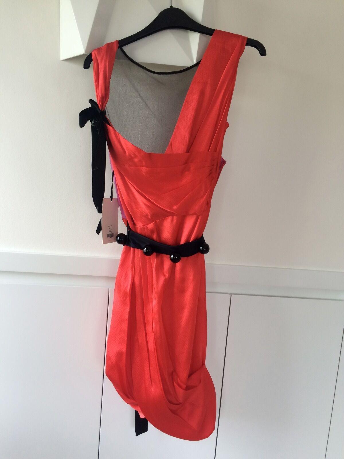 088aecea6f179 Roksanda Ilincic for Whistles Red Dress 8 UK Silk Size nqalxk1960 ...
