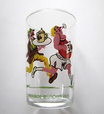 Jeux Olympique 1972 Verre Moutarde Olympiade Munchen JO Glas