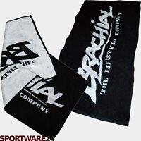 Brachial Handtuch Soft Schwarz Sport Fitness Badetuch 45x90cm Baumwolle