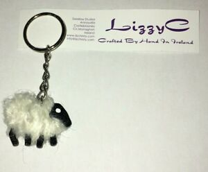 Sheep-Keyring-Handmade-by-Lizzy-C-Ireland-in-Various-Colours