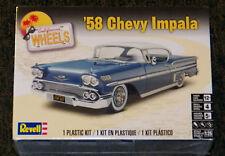 Revell Monogram California Wheels 1958 Chevy Impala Model Kit 1/25
