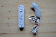 Wii-Nintendo Wii Remote Controller + Nunchuk (buono stato)