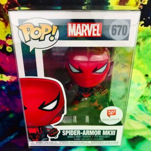 Superior Octopus Scream Symbiote Exclusive Funko POP Lot Spider-Armor MKIII