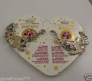BFF-Rudolph-Clarice-bracelets-Charm-Bracelet-best-friends-red-nosed-reindeer