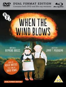 When-the-Wind-Blows-DVD-2018-Jimmy-T-Murakami-cert-PG-2-discs-NEW
