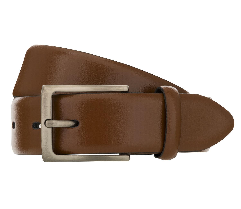 Bugatti Men's Belt Belt Leather Belt Cognac 8400