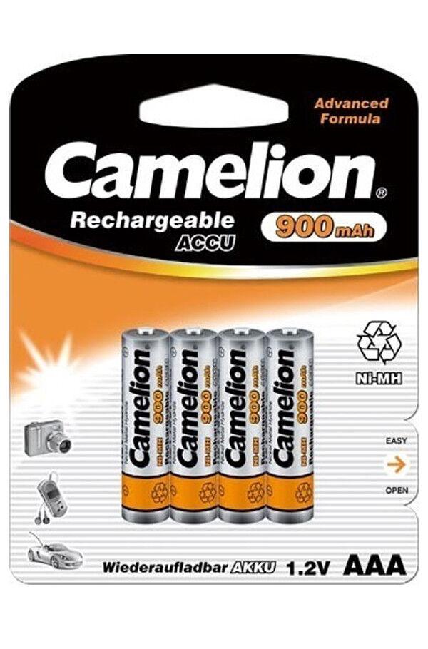 Camelion AAA HR03 Micro 900mAh 1.2V WIEDERAUFLADBAR Akku Fast für alle Telefone