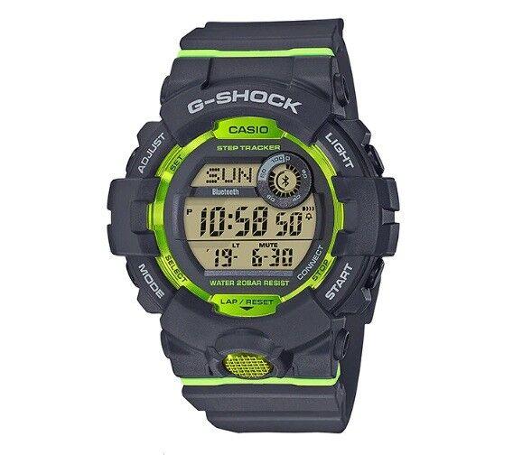 CASIO G-SHOCK GBD-800-8ER EN GRIS CON BLUETOOTH Y STEP TRACKER, PODOMETRO