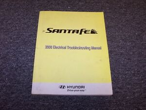 image is loading 2008-hyundai-santa-fe-electrical-wiring-diagram-manual-