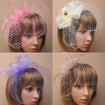 Cream Headband Aliceband Hat Fascinator Weddings Ladies Day Race Royal Ascot 23
