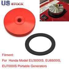 Cnc Generator Extended Run Fuel Cap Set For Honda Eu3000is Eu6500is Eu7000is Red