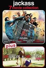 Jackass: 7-Movie Collection (DVD, 2016, 7-Disc Set) + Bad Granpa Unrated