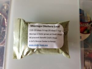 Details about Moringa Oleifera Leaf Powder 2oz from Cindi's Hope Farm in  Kenya