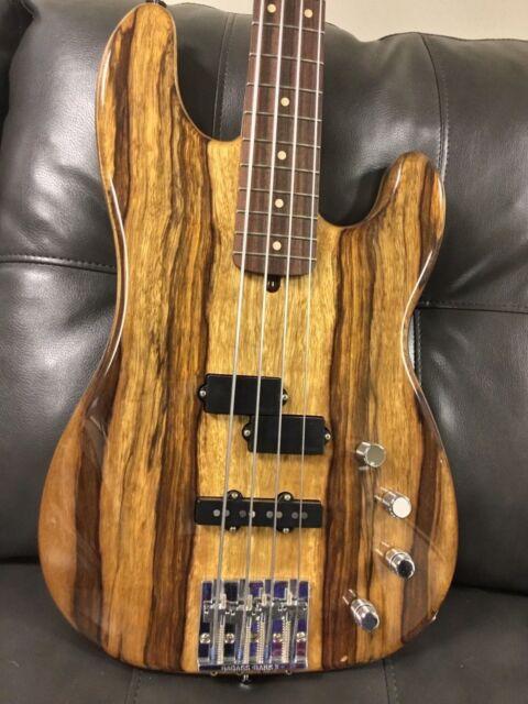 Fender/ Warmouth American Deluxe Precision Bass Guitar
