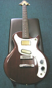 MAYA-034-Gibson-Marauder-034-style-Electric-Guitar-amp-Case-USED