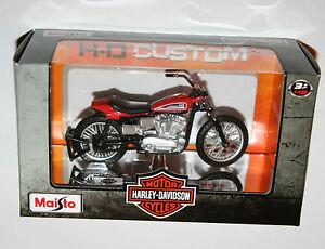 Maisto-Harley-Davidson-1972-XR750-RACING-BIKE-Model-Scale-1-18
