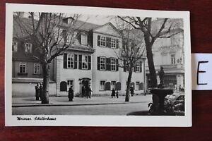 Carte Postale Vue Carte Basse-saxe Weimar Schellerhaus-afficher Le Titre D'origine Les Commandes Sont Les Bienvenues.