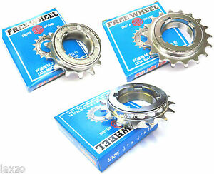 """Fixie Chrome Finish Single Speed Freewheel BMX 1//2/"""" x 1//8/"""" 18T"""