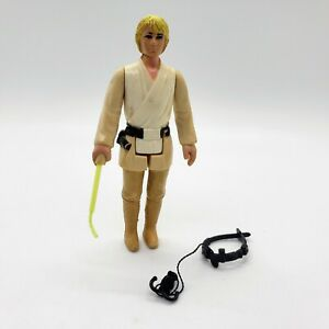 Vintage-Star-Wars-LUKE-SKYWALKER-FARMBOY-1977-Complete-Original-Lightsaber-BONUS