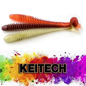 KEITECH-SWING-IMPACT-Japan-Jig-Soft-Bait-Scented-Salty-Aroma-Lure-BASS-WALLEYE