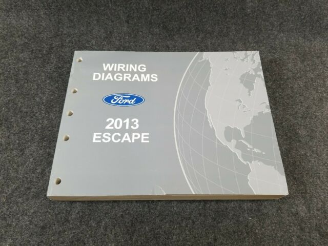 2013 Ford Escape Wiring Diagrams Manual